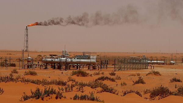 Khai thác dầu mỏ ở Ả Rập Xê-út - Sputnik Việt Nam