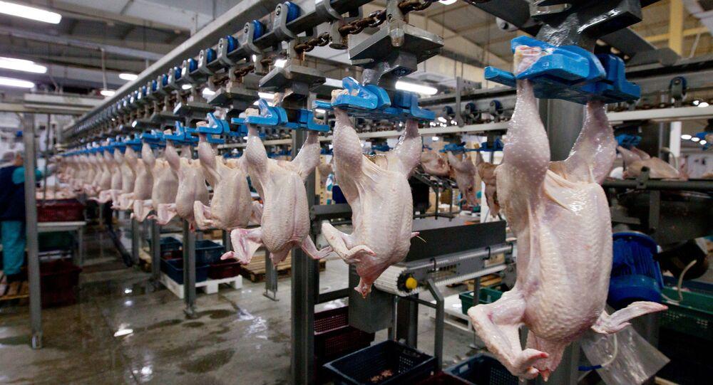 sản xuất thịt ở Tomsk
