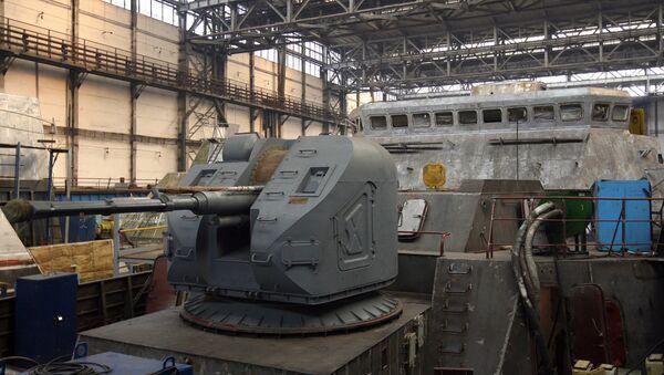 Nhà máy mang tên Gorky ở Zelenodolsk xây dựng các tàu khu trục Gepard - 3.9 cho Hải quân Việt Nam - Sputnik Việt Nam