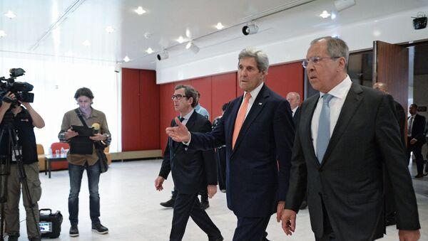 John Kerry và Sergey Lavrov - Sputnik Việt Nam