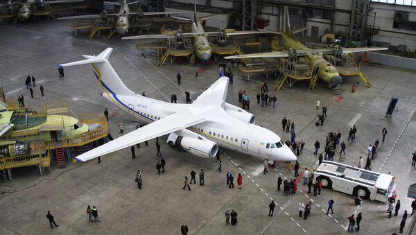 Tập đoàn chế tạo máy bay Antonov - Sputnik Việt Nam