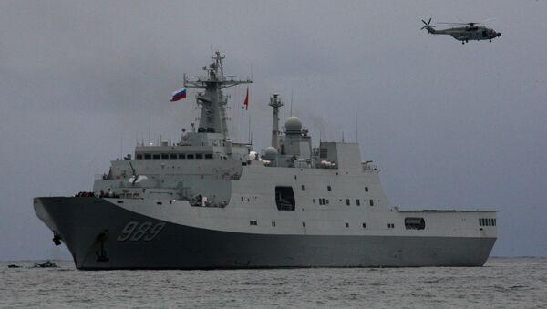 cuộc tập trận Nga-Trung - Sputnik Việt Nam