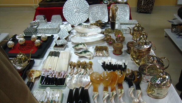 Triển lãm các sản phẩm xuất khẩu của thủ đô Việt Nam tại Matxcơva - Sputnik Việt Nam