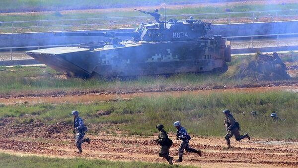 Российско-китайские военные учения Морское взаимодействие-2016 в китайской провинции Гуандун - Sputnik Việt Nam