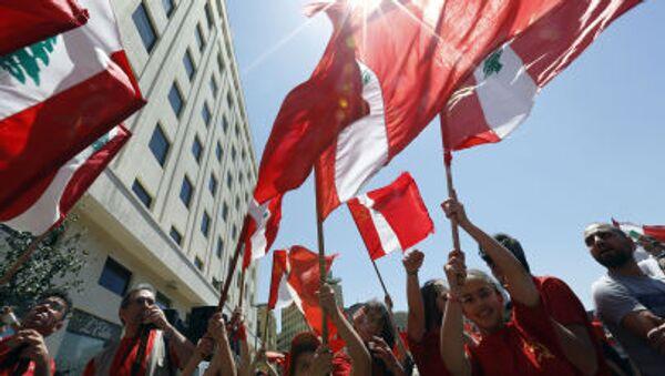 Ngày Quốc tế lao động ở trung tâm thủ đô Lebanon - Sputnik Việt Nam