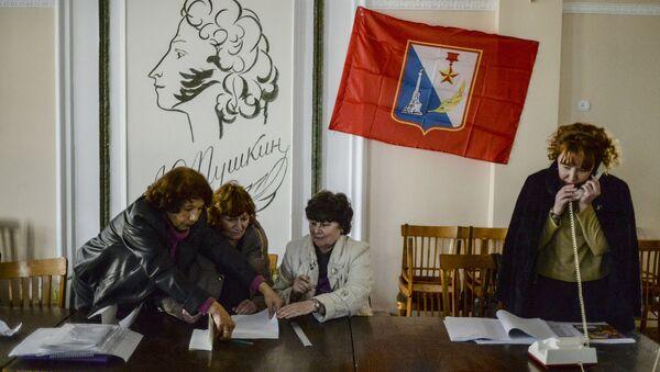 Крым накануне референдума - Sputnik Việt Nam