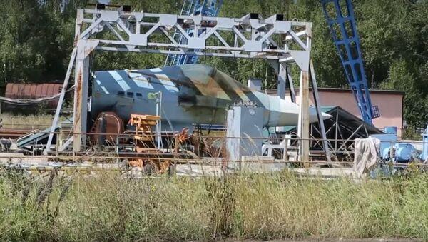 Lộ video thử nghiệm súng máy của chiến đấu cơ T-50 - Sputnik Việt Nam