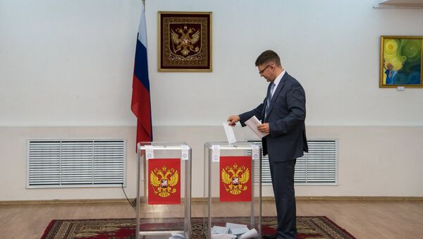 Cuộc bầu cử Duma Quốc gia ở Astana - Sputnik Việt Nam
