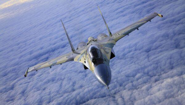 Chiến đấu cơ Su-35 - Sputnik Việt Nam