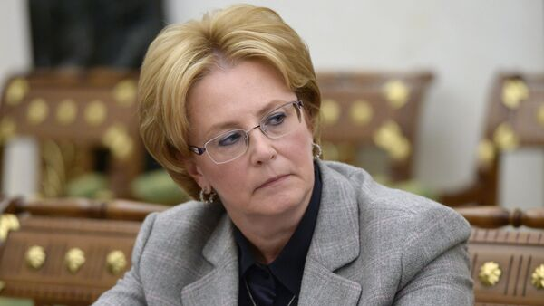 Bộ trưởng Y tế Veronika Skvortsova - Sputnik Việt Nam