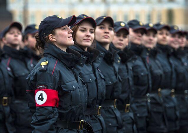 nhân viên tương lai của cơ quan thực thi pháp luật Nga
