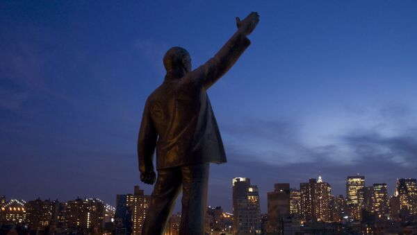 Bức tượng Lenin ở New York - Sputnik Việt Nam