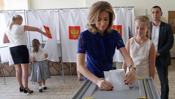 bầu cử Duma Quốc gia ở Crưm - Sputnik Việt Nam