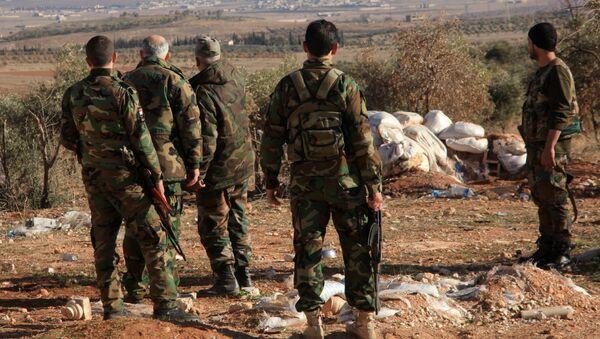 cứ điểm của quân đội Syria - Sputnik Việt Nam
