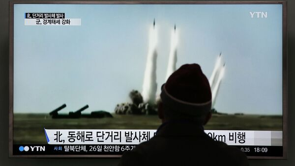 Bắc Triều Tiên phóng tên lửa - Sputnik Việt Nam