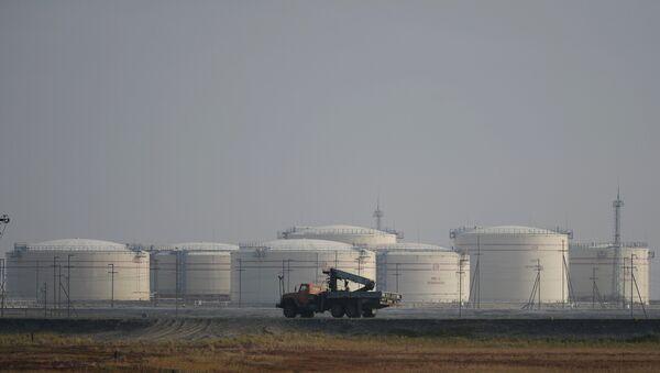 kho dự trữ dầu  - Sputnik Việt Nam