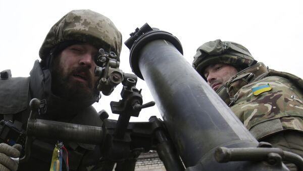 Quân đội Ukraina bị mất ở Donbass tất cả súng cối thời Liên Xô - Sputnik Việt Nam