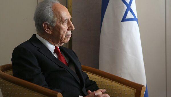 Сựu Tổng thống Israel Shimon Peres - Sputnik Việt Nam