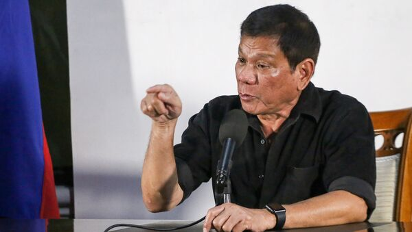Rodrigo Duterte - Sputnik Việt Nam