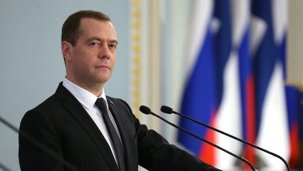 Dmitri Medvedev - Sputnik Việt Nam