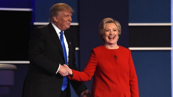 Hillary Clinton và Donald Trump - Sputnik Việt Nam