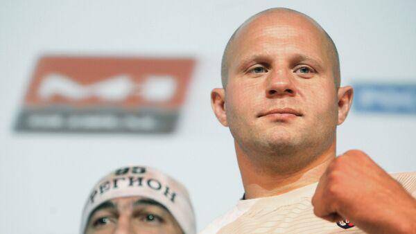 Chủ tịch Liên đoàn võ thuật hỗn hợp Nga (MMA)  Fedor Emeliyanenko - Sputnik Việt Nam