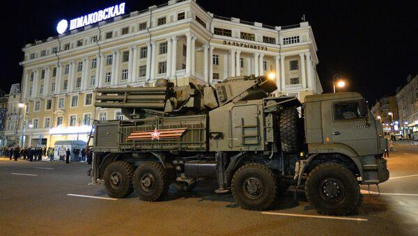 Hệ thống tổ hợp tên lửa-pháo phòng không Pantsir-S1 - Sputnik Việt Nam