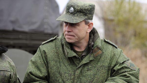 Phó chỉ huy các lực lượng vũ trang của DNR Eduard Basurin - Sputnik Việt Nam
