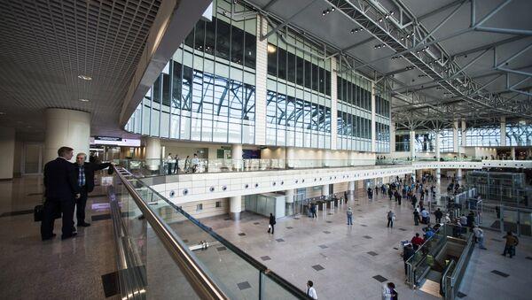 sân bay Domodedovo - Sputnik Việt Nam