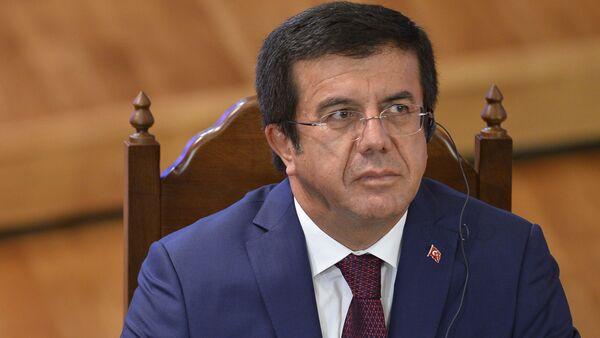 Bộ trưởng Kinh tế Thổ Nhĩ Kỳ Nihat Zeybekchi - Sputnik Việt Nam