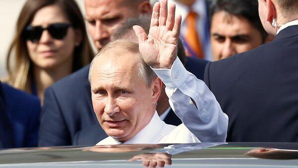 Vladimir Putin ở Thổ Nhĩ Kỳ - Sputnik Việt Nam