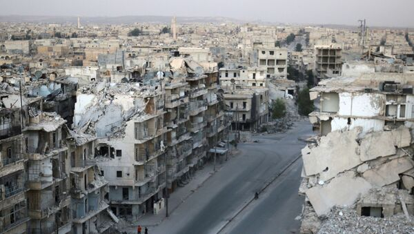 Разрушенные здания в Алеппо - Sputnik Việt Nam