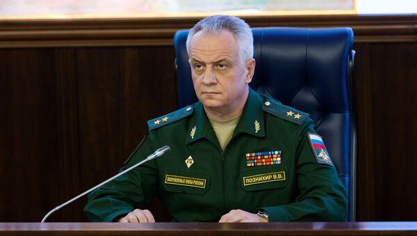 Phó Trưởng Ban chỉ huy Bộ Tổng tham mưu các lực lượng vũ trang Nga, Trung tướng Viktor Poznihir - Sputnik Việt Nam