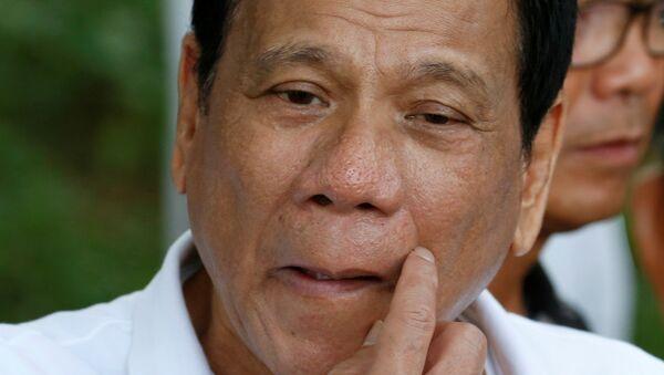 Rodrigo Duterte, presidente de Filipinas - Sputnik Việt Nam