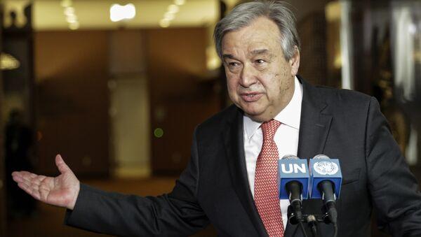 Tân Tổng thư ký của Liên Hợp Quốc António Guterres - Sputnik Việt Nam