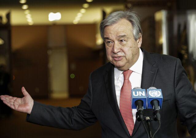Tân Tổng thư ký của Liên Hợp Quốc António Guterres