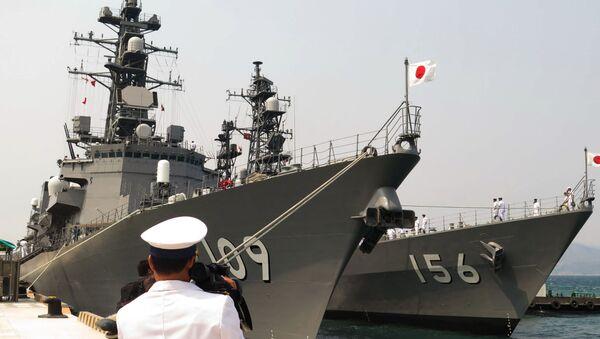 Những tàu Nhật ở Cam Ranh - Sputnik Việt Nam