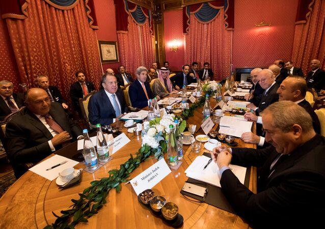 Cuộc gặp đa phương về Syria tại Lausanne