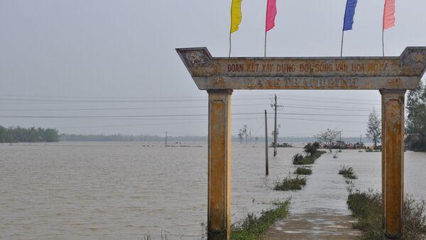 Lũ lụt ở miền Trung Việt Nam - Sputnik Việt Nam