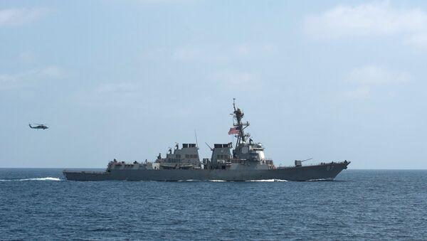 Khu trục hạm Mason của Hải quân Hoa Kỳ - Sputnik Việt Nam