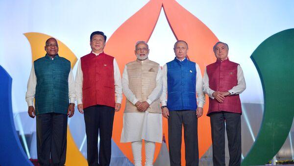 Các nhà lãnh đạo BRICS - Sputnik Việt Nam