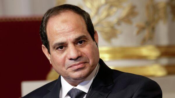 Tổng thống Ai Cập Abdel Fattah al-Sisi - Sputnik Việt Nam