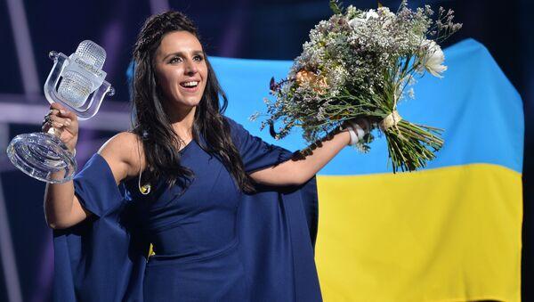 Nữ ca sĩ Dzhamala chiến thắng  trong Eurovision-2016 - Sputnik Việt Nam