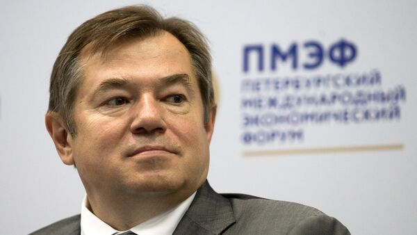 ông Sergei Glazyev cố vấn của Tổng thống Nga - Sputnik Việt Nam