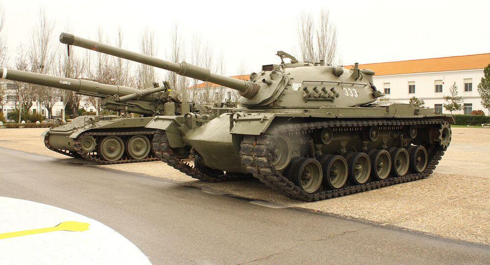 xe tăng M-48
