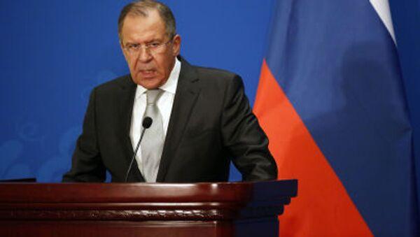 Bộ Ngoại giao Nga Sergei Lavrov - Sputnik Việt Nam