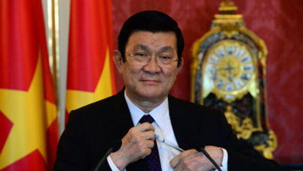 Chủ tịch nước Việt Nam Trương Tấn Sang - Sputnik Việt Nam
