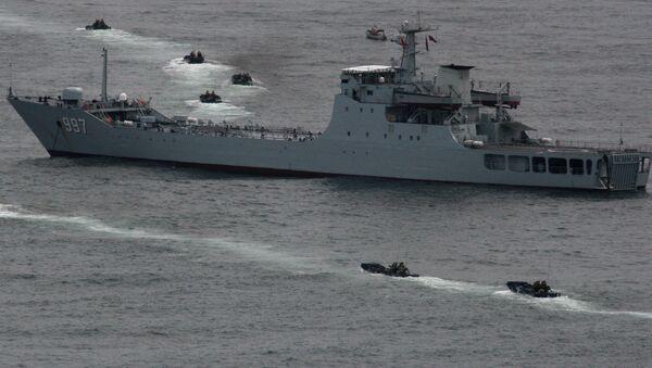 Tàu Hải quân Trung Quốc - Sputnik Việt Nam