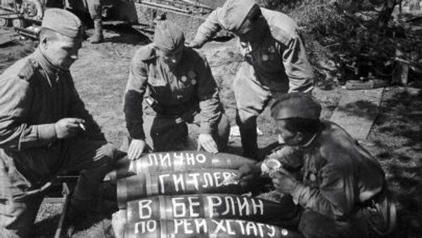 Chiến sĩ Liên Xô trong Thế chiến II - Sputnik Việt Nam