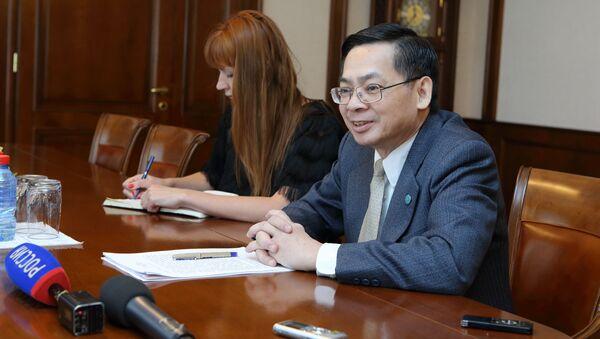 Thống đốc tỉnh Tomsk, ông Sergey Zhvachkin đã có buổi gặp và làm việc với Tổng lãnh sự Việt Nam tại Ekaterinburg ông Vũ Huy Mừng. - Sputnik Việt Nam